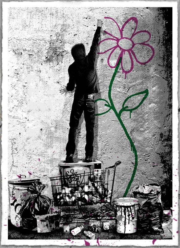streetartnews_mrbrainwash_eternity_print